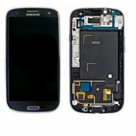 GALAXY S3 I9300 Samsung Pebble Blue Remplacement Ecran lcd + tactile