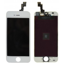 Changement vitre tactile+Lcd iphone 5S blanc