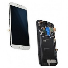 remplacement ecran complet galaxy note 2 blanc