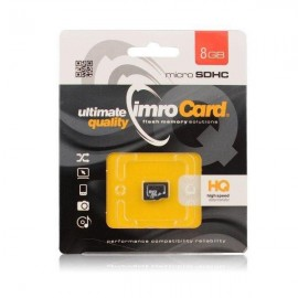 Carte mémoire micro SD 8 GB