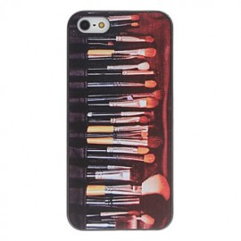Coque pinceaux maquillage iPhone 5/5S SE