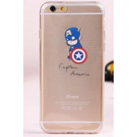 Coque Captain America iPhone 6/6S