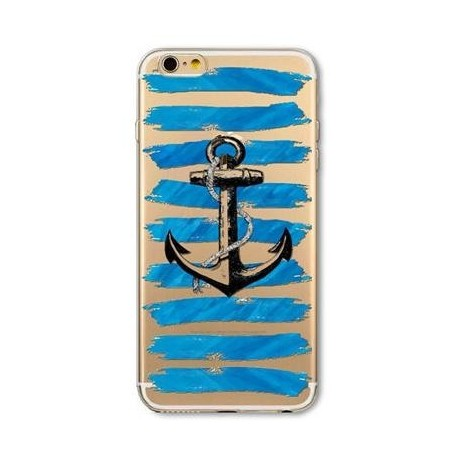 coque ancre fond bleu iphone 6/6s