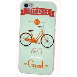 coque velo vintage iphone 5/5S SE