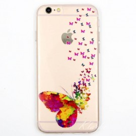 Coque papillons iphone 6/6S